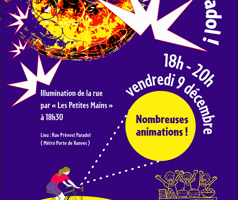 Vendredi 9 décembre de 18h à 20h – Pleins feux sur Paradol !