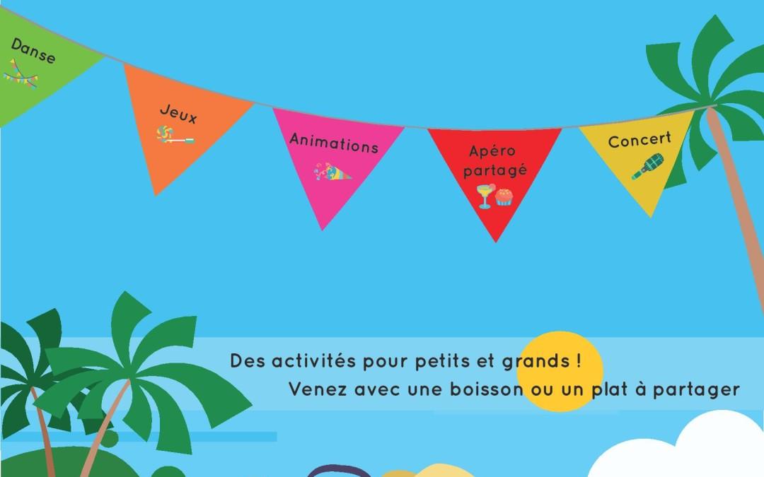«Un air de vacances souffle sur Paradol !», vendredi 6 juillet, 17h-20h