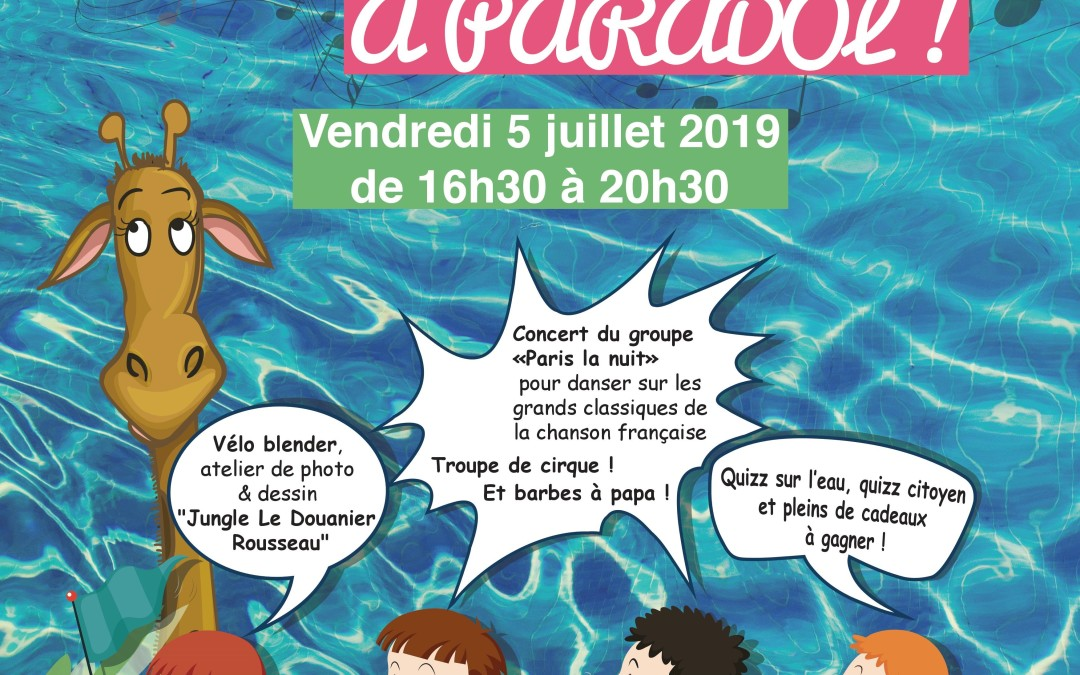 Retour sur Guinguette à Paradol ! vend. 5 juil. 2019