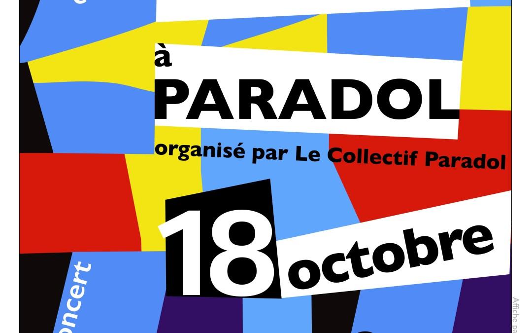 De l'Art à Paradol ! Vendredi 18 octobre 2019